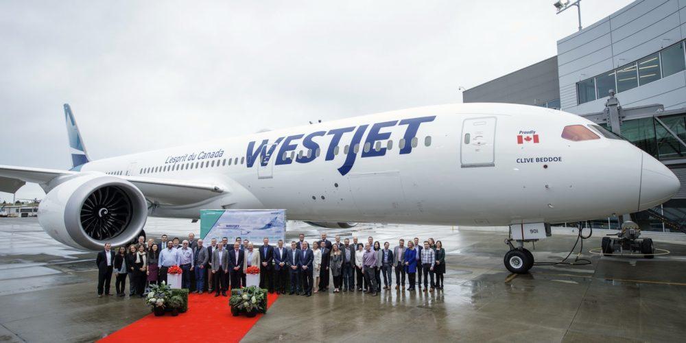 Boeing 787-9 Westjet C-GUDH