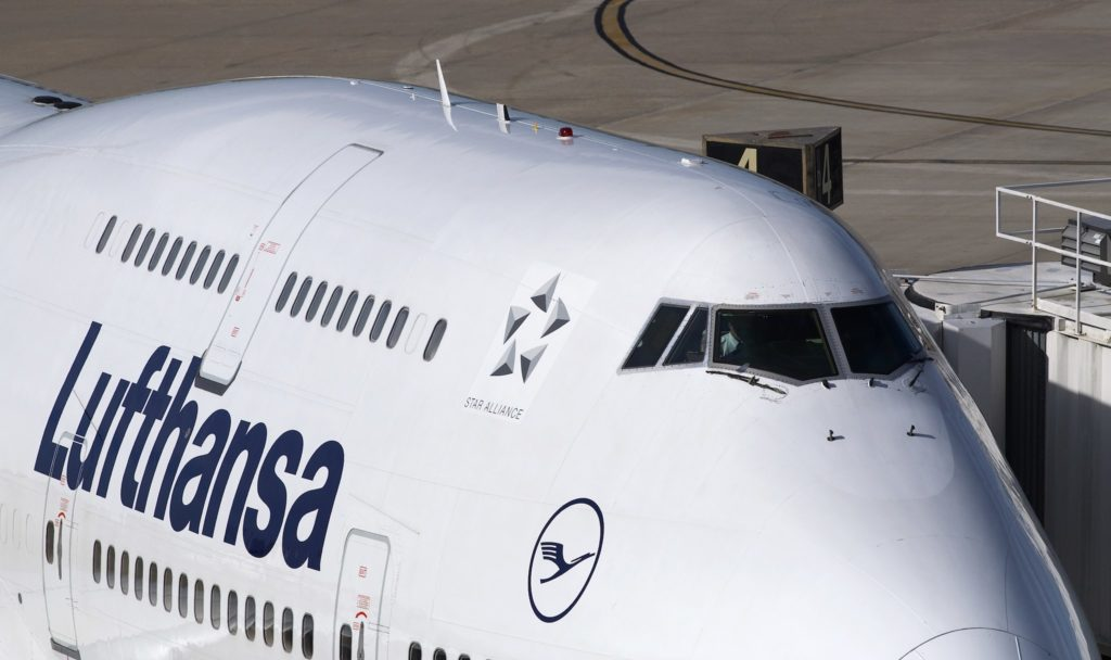 Boeing 747-400 Lufthansa Star Alliance