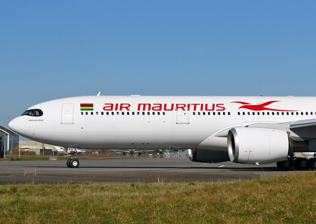 « Aapravasi Ghat », A330neo MSN 1884 Air Mautitius / F-WWCN / 3B-NBU © Eurospot - reproduction interdite