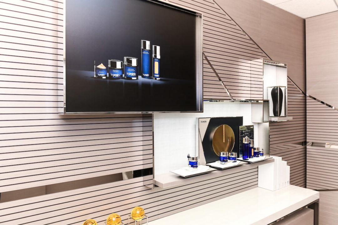 Espace soin La Prairie au salon AF de New-York JFK © Air France