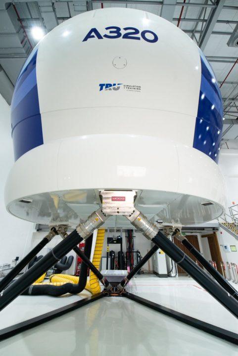 Simulateur FFS pour la famille A320
