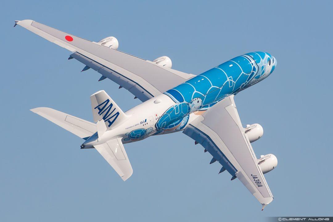 All Nippon Airways ANA Airbus A380-841 cn 262 F-WWSH // JA381A