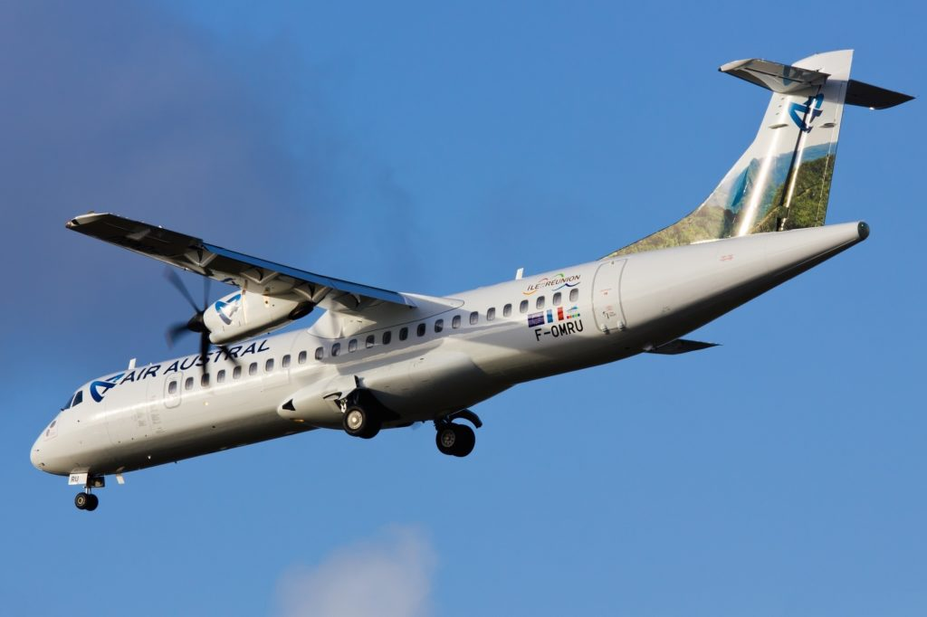ATR 72 Air austral F-OMRU