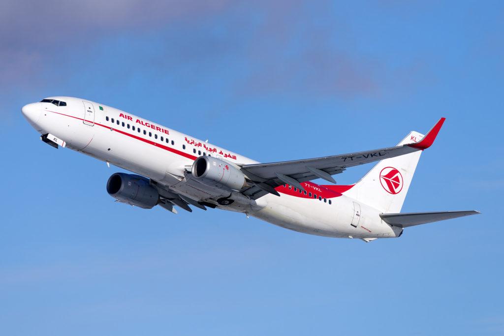 Air Algérie Boeing 737-800 7T-VKL