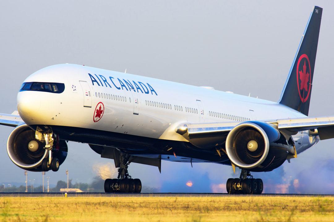 Boeing 777 Air Canada