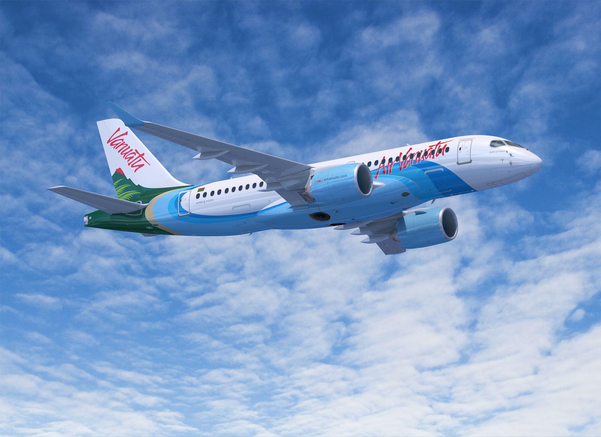 Air Vanuatu A220-100