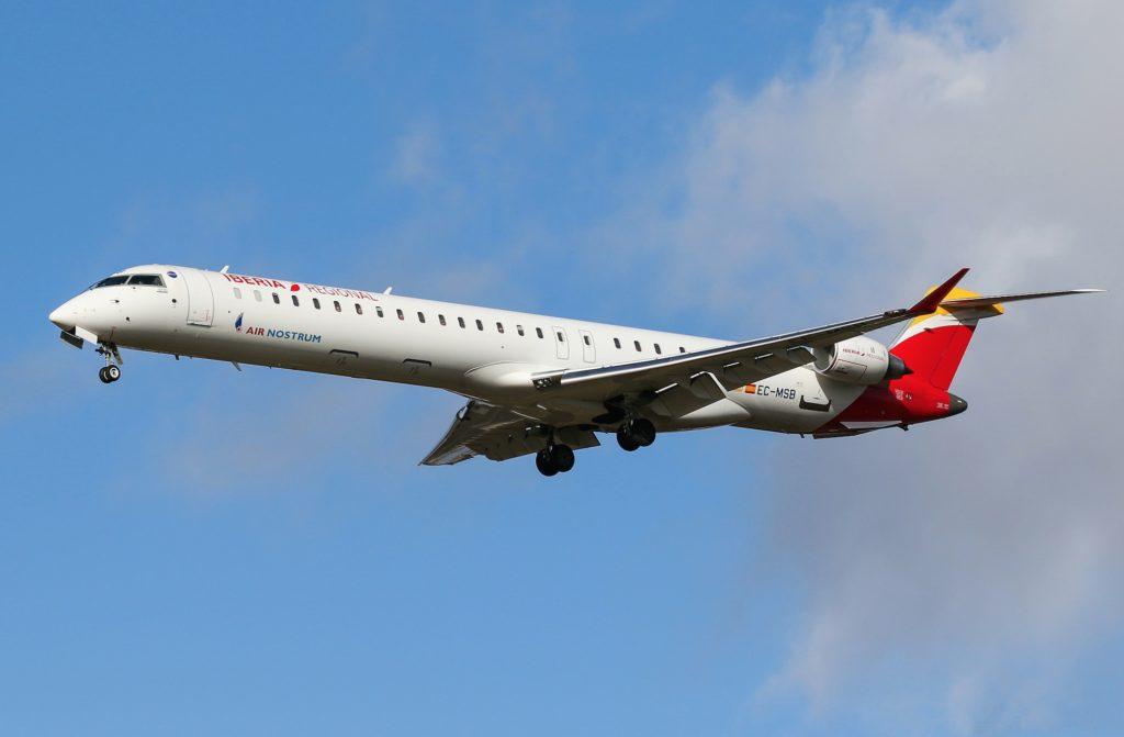 CRJ-1000 Iberia Regional EC-MSB