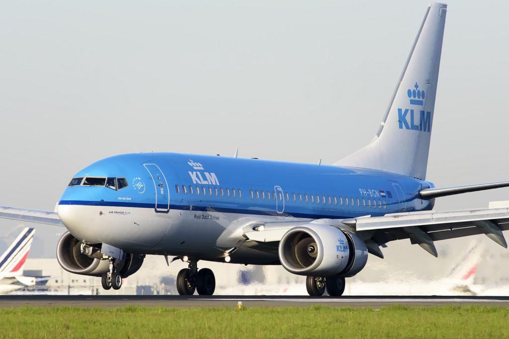Boeing 737 KLM