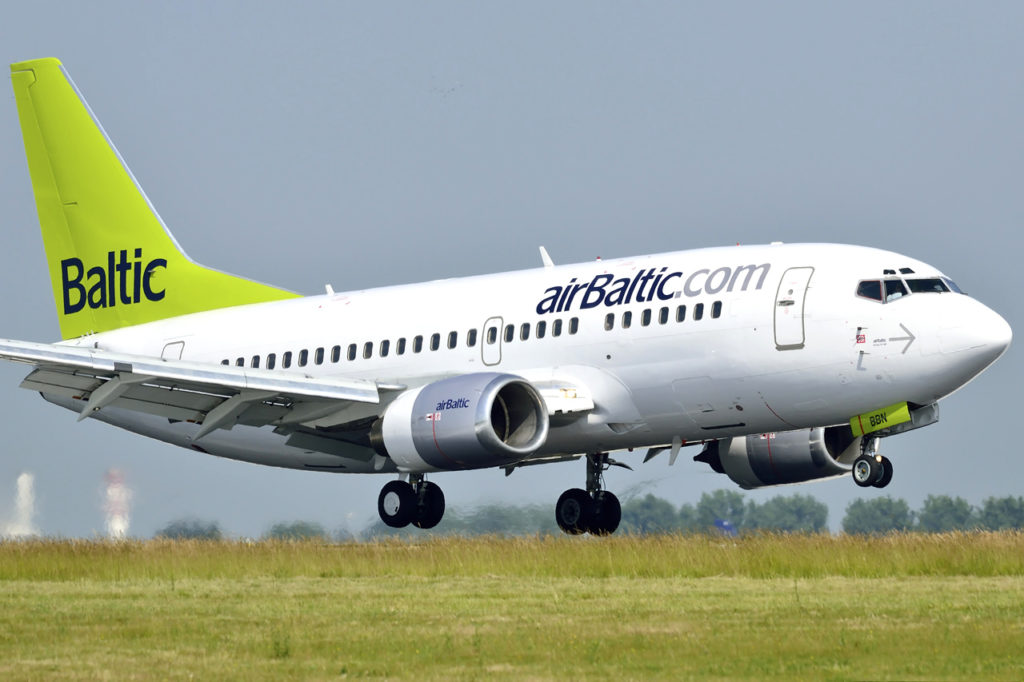 Boeing 737 airBaltic