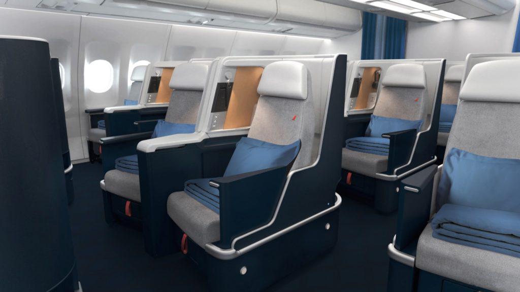 Siège Business des A330