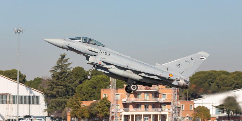 Eurofighter C16 Typhoon Armée de l'Air espagnole