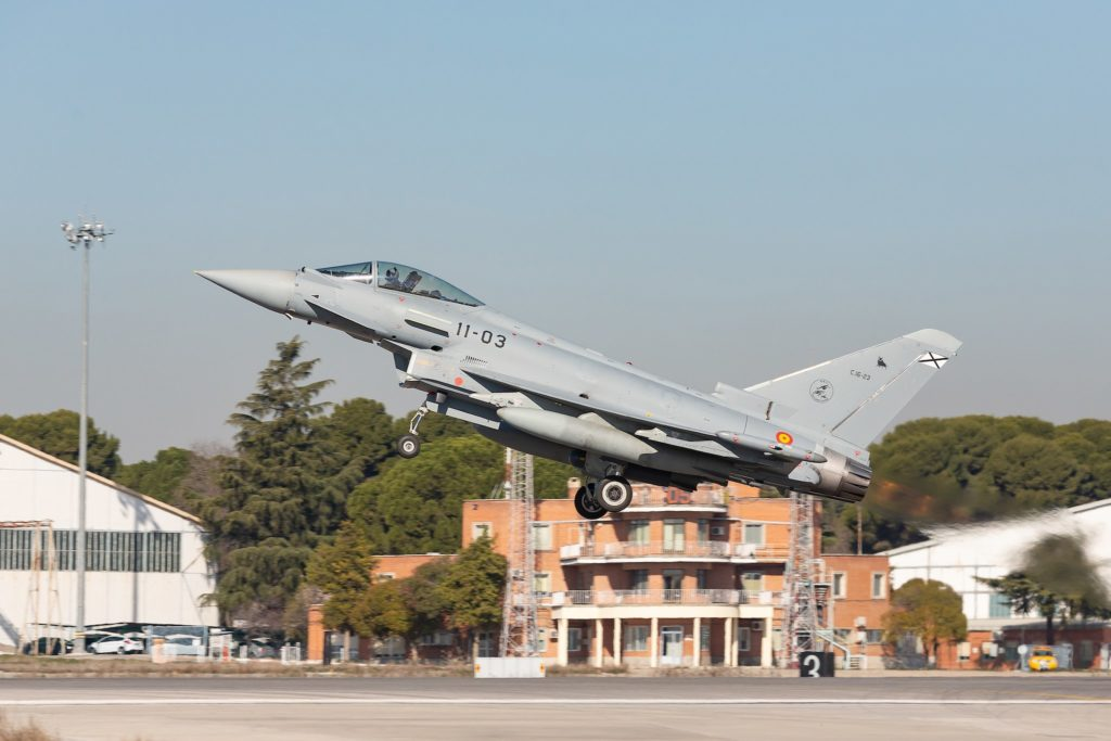 Eurofighter C16 Typhoon Armée de l'Air espagnole
