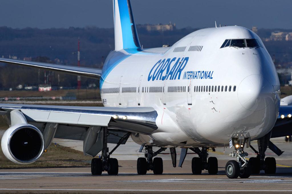 Boeing 747-400 Corsair F-HSEA