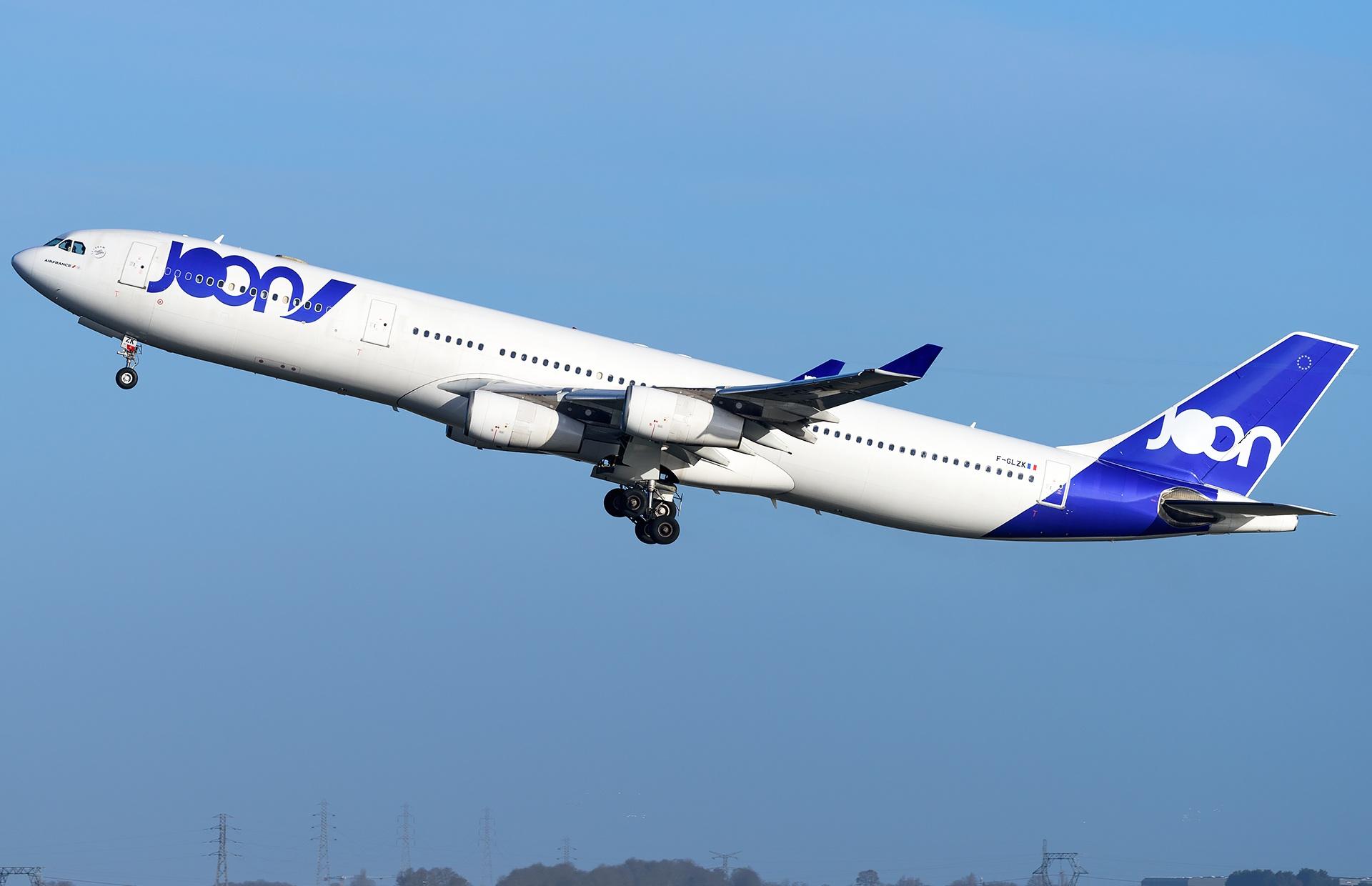 Airbus A340-300 JOON F-GLZK