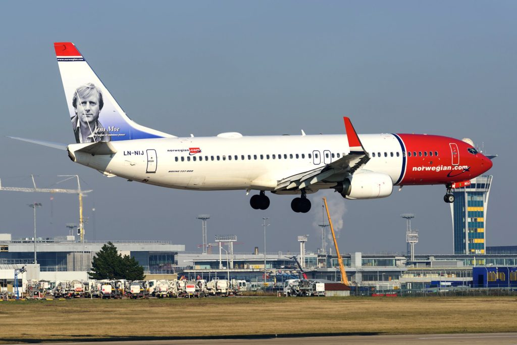 Boeing 737-800 Norwegian LN-NIJ © Guillaume Février - reproduction interdite