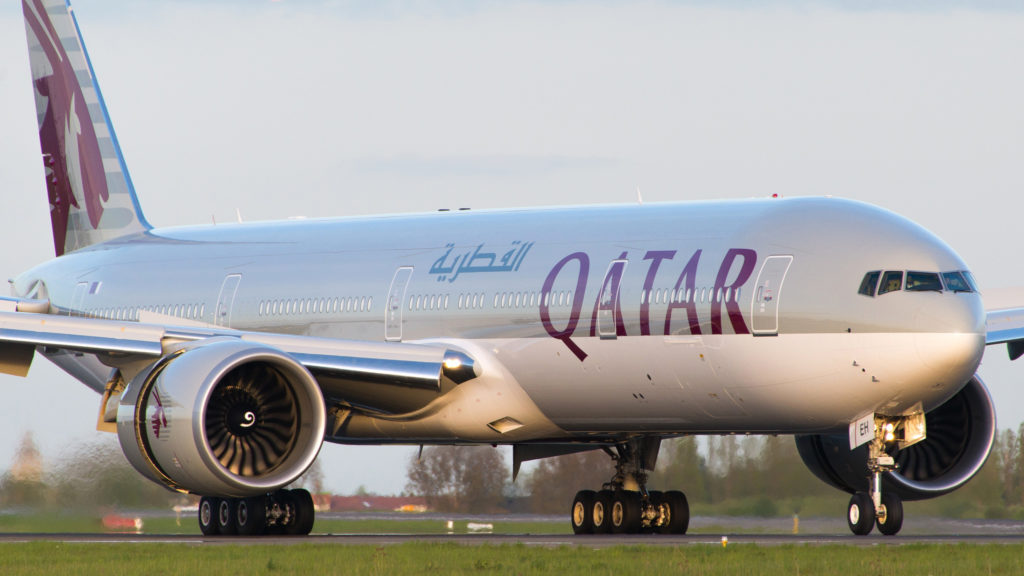 Boeing 777-300 ER Qatar Airways A7-BEH © JB Rouer - reproduction interdite