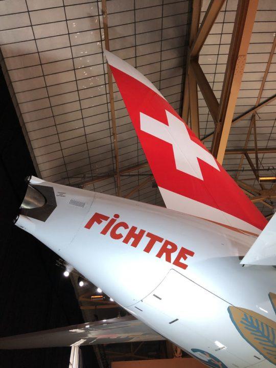A220 Swiss HB-JCA livrée Fête des Vignerons 2019