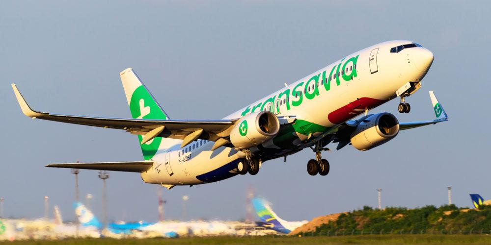 Boeing 737 Transavia F-GZHT