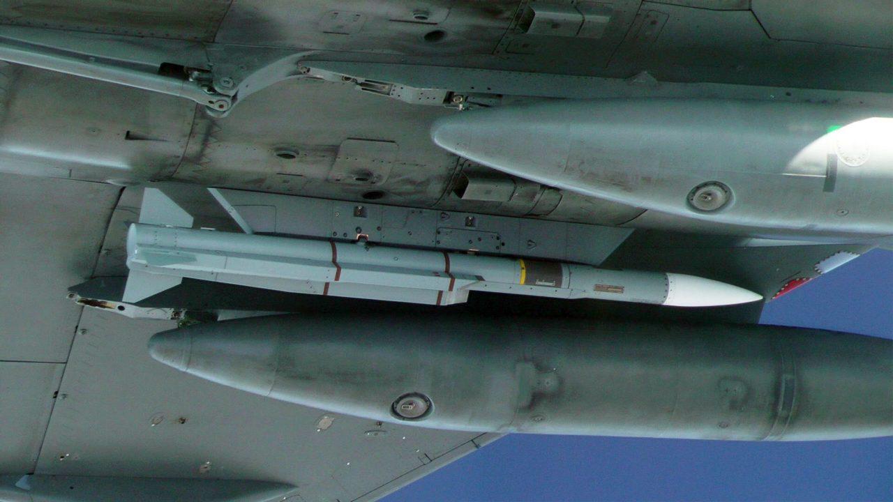 Missile METEOR sous la voilure du Rafale