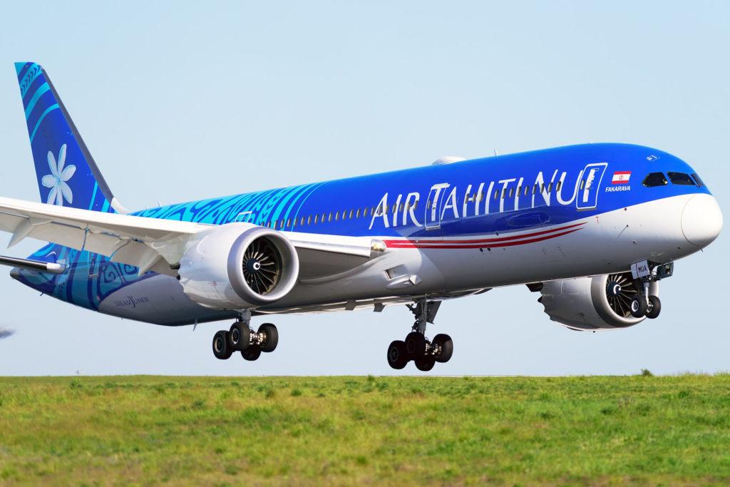 Boeing 787 Air Tahiti Nui F-OMUA