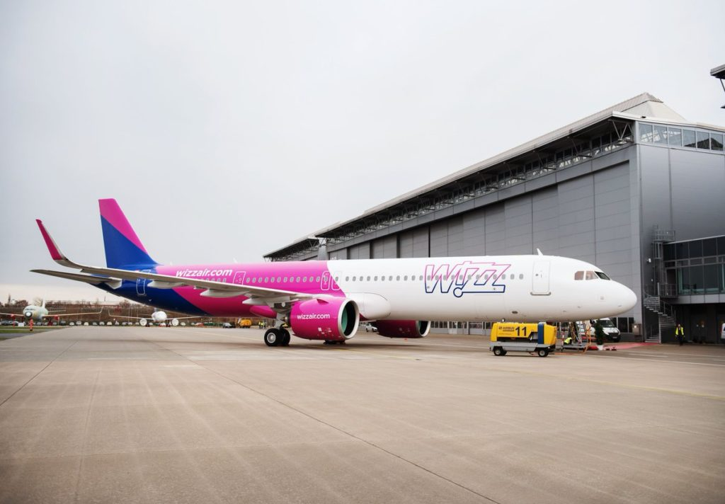 Airbus A321neo Wizz Air MSN8712 / HA-LVA