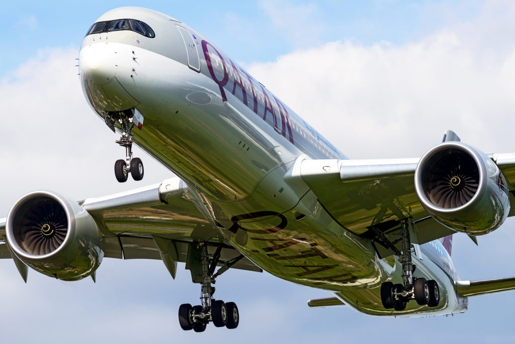 A350-900 Qatar Airways A7-ALI