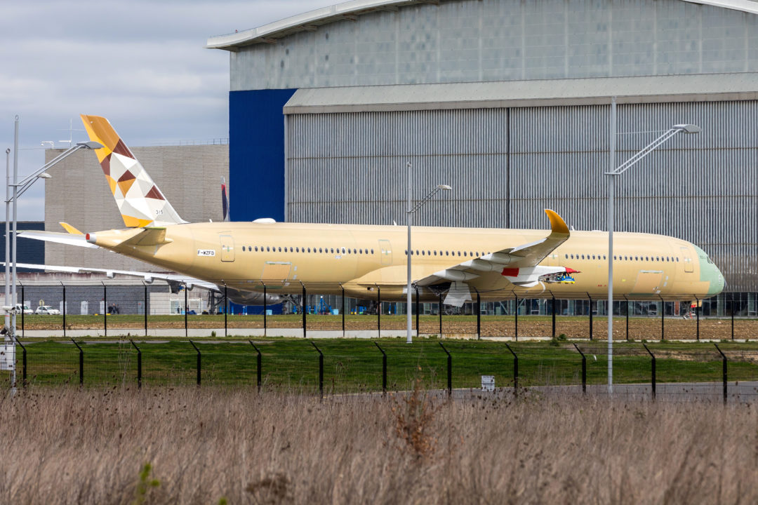 A35K Etihad Airways MSN315