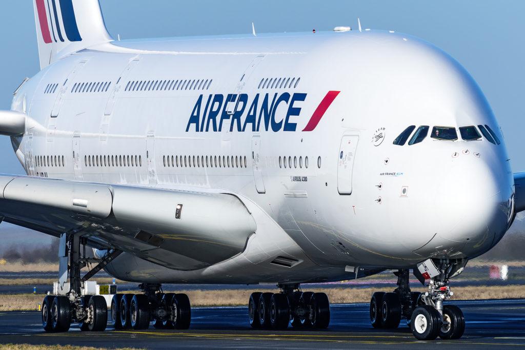 A380 Air France F-HPJH à CDG