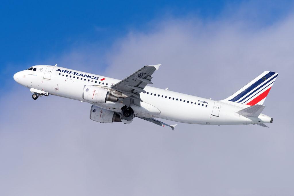 Air France A320 F-HBNL