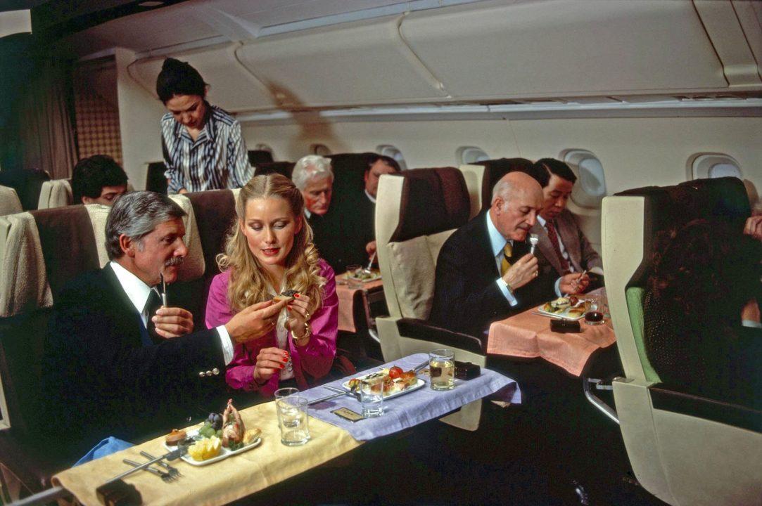 Service Air France à bord de Concorde