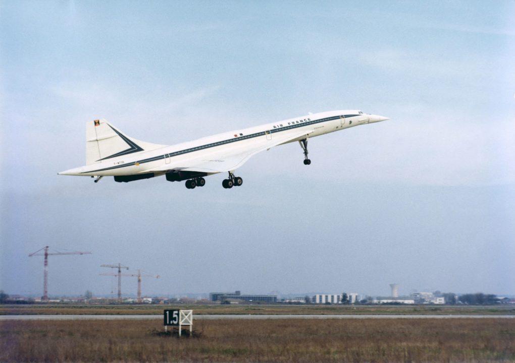 Concorde F-BTSB au décollage