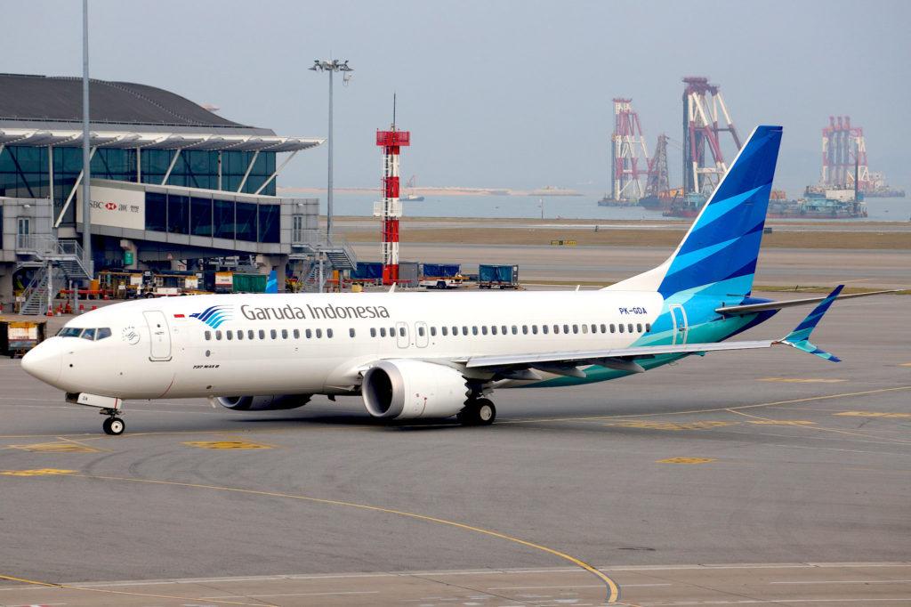 Garuda Indonesia Boeing 737-8 MAX PK-GDA