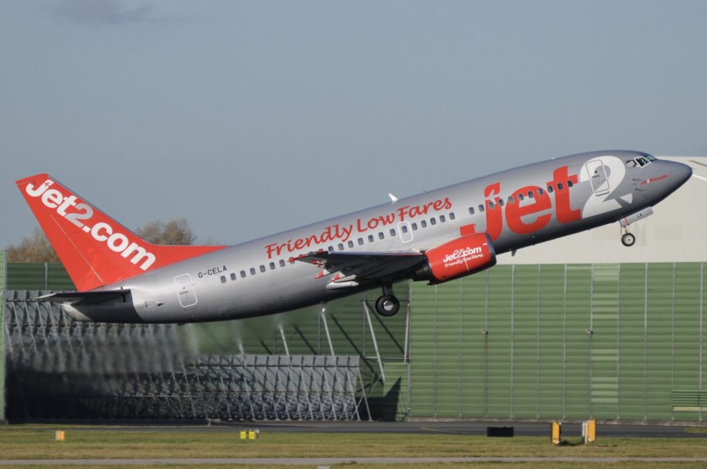 Boeing 737-377QC jet2.com G-CELA
