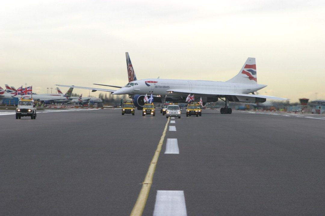 Dernier jour du Concorde British Airways