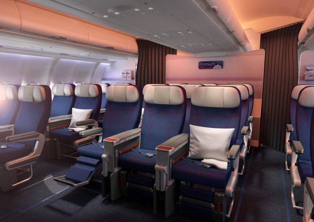 Cabine Premium Eco A330-300 Brussels Airlines