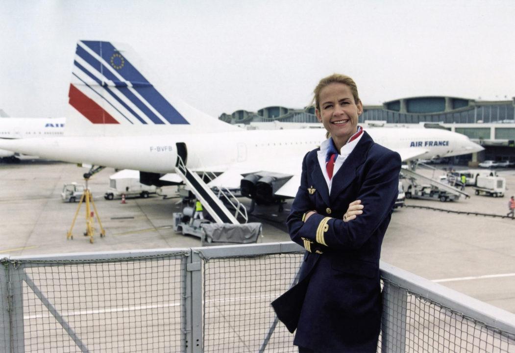 Beatrice Vialle seule femme Pilote de Concorde