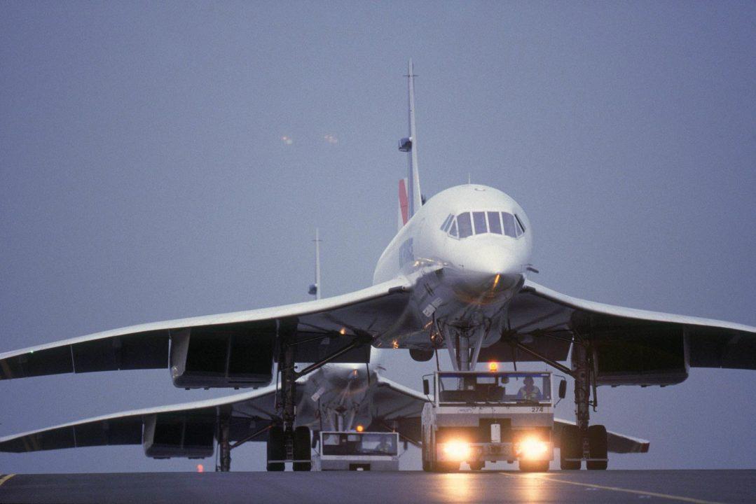 Deux Concorde Air France tractés à CDG