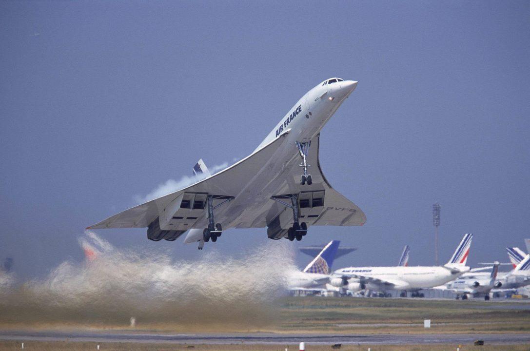 Le Concorde F-BVFB décolle de CDG