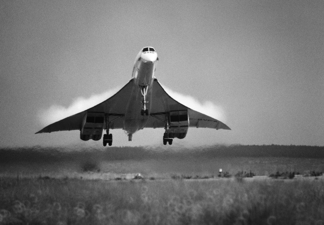 Le Concorde F-BVFA décolle de CDG