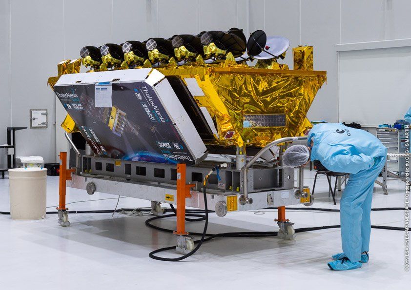 Satellite O3b qui sera à bord de VS22