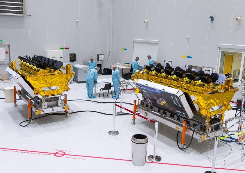 Satellites O3b qui sera à bord de VS22