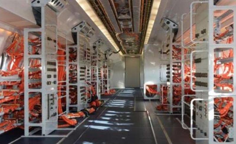 Cabine du Fokker 100 DGA EV