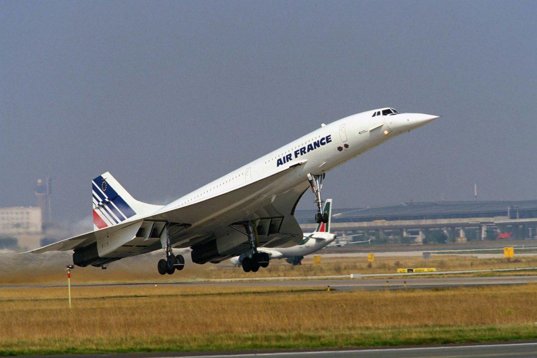 Concorde au décollage
