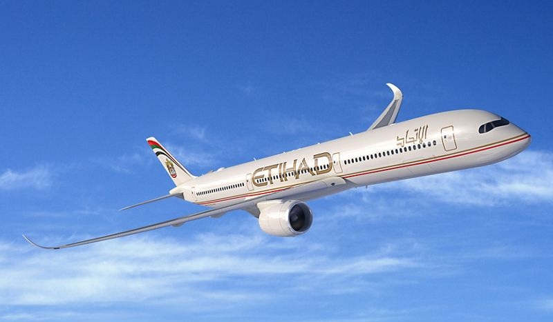 A350-1000 Etihad Airways