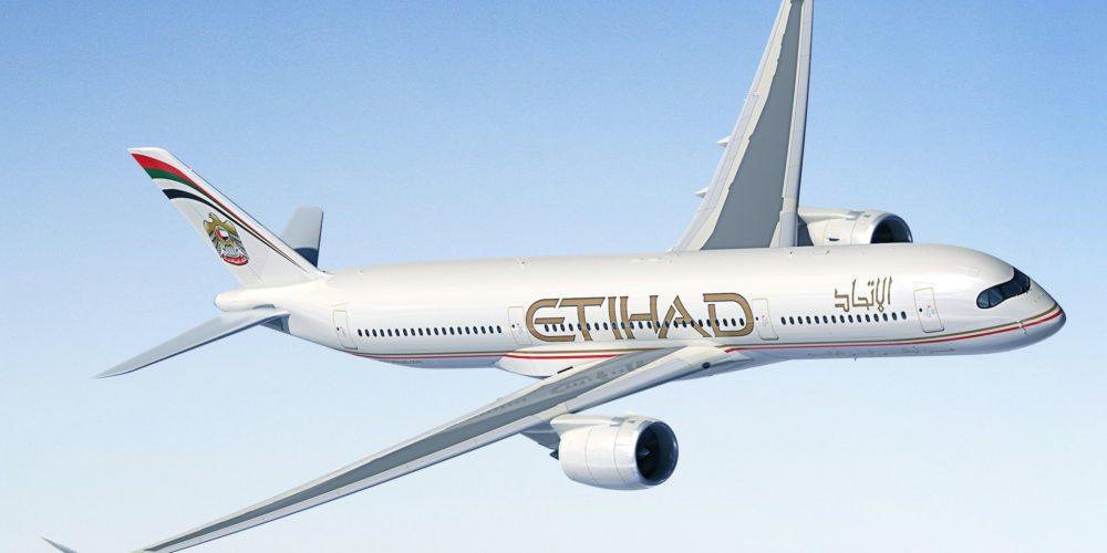 A350-900 Etihad Airways