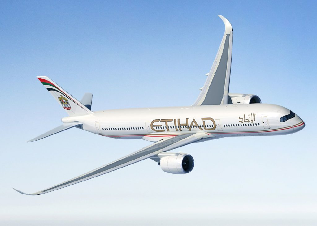 A350-900 Etihad Airways