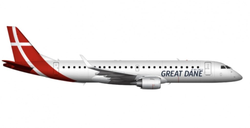 Embraer 195 Great Dane Airlines