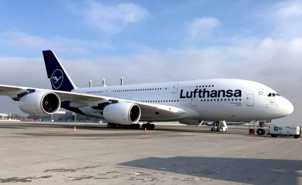 Airbus A380 Lufthansa D-AIMB