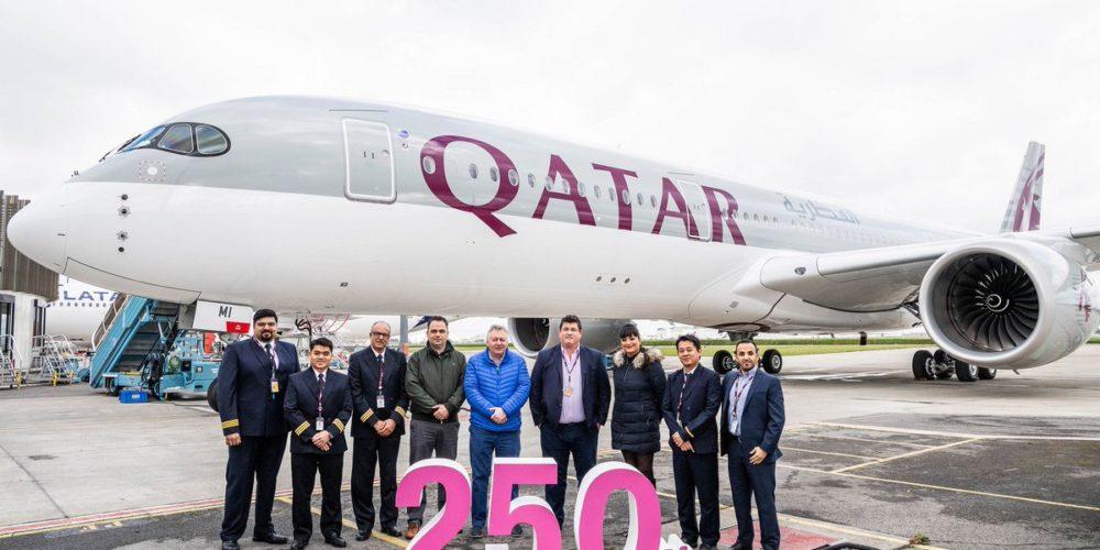 Qartar Airways A350-1000