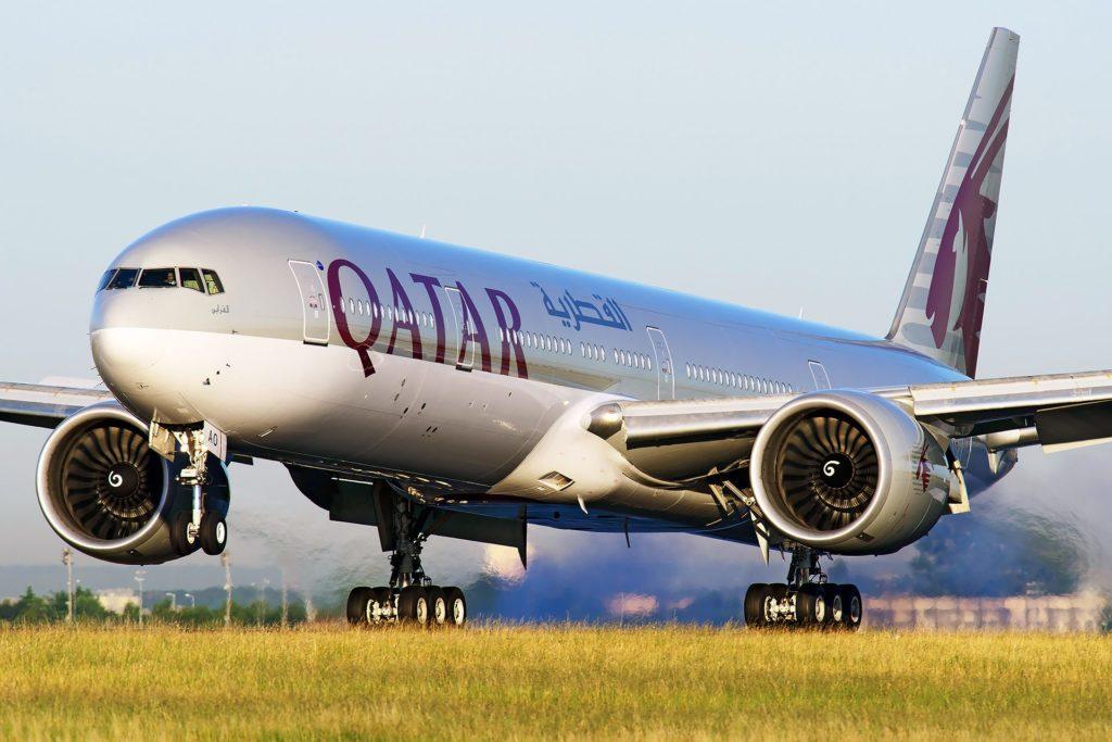 Boeing 777-300ER Qatar A7-BAO